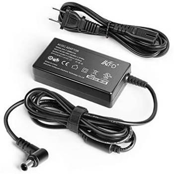 [해외] [KFD AC Adapter for LG 27 29 LED Monitor 27MK400H-B 27MK430H-B 27MK600M-B 27MK60TM-B 27MP67VQ Samsung]