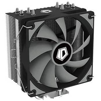 [해외] [ID-COOLING SE-224-XT Basic CPU Cooler AM4 CPU Cooler 4 Heatpipes CPU Air Cooler 120mm PWM Fan Air Co]