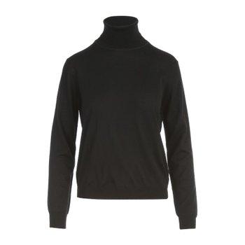 [해외배송] 메종마르지엘라 하이넥 핏팅 풀오버 스웨터 S51HA1149.S17814 900F BLACK