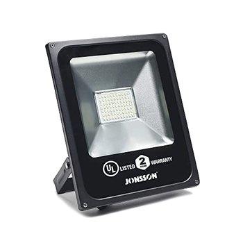[해외] [50W LED 옥외 홍수 빛, 슈퍼 밝은 5500LM 모양 보안 조명, IP65-6500K 멋진 흰 게시물 라이트, UL 상장, IP65 방수]