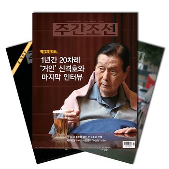 주간잡지 주간조선 1년 정기구독