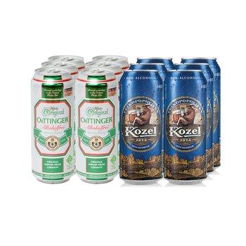 맥주맛 비알콜 음료 / 웨팅어 프라이 500ml 6캔 + 코젤 500ml 6캔