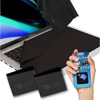 [해외] [Clean Screen Wizard Microfiber for 14 inch Laptops 2 XL Keyboard Protector Covers ClothsKeyboard Scr]