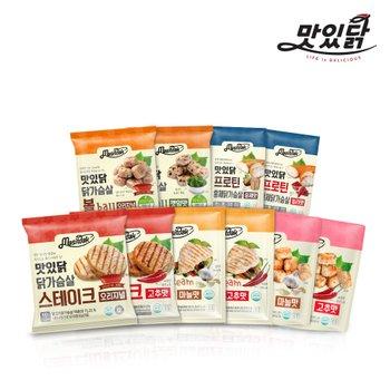 [맛있닭][랭킹닭컴] 닭가슴살 스테이크/소시지/탕수육 BEST 골라담기