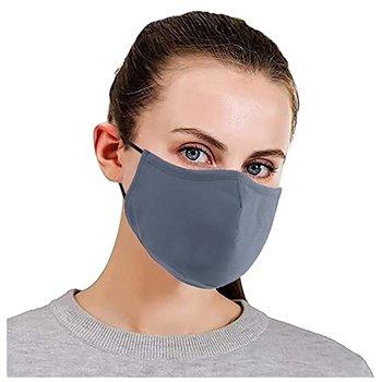 [해외] [YulingStyle 패키지 10 성인이 얼굴 마스크가 환기 가공으로 반복 될 수 있습니다. 여성 남성용 355US817B19 (회색, 포장 1 (Grey, Pack of 10)]