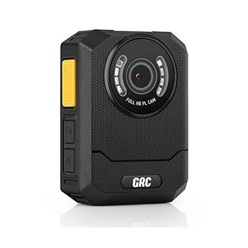[해외] [오디오가 포함된 GRC X3B 1296P HD 경찰 본체 카메라 - 128GB 메모리, 야간 투시경, 2인치 디스플레이, 휴대용 방수 신체 착용 카메라, 법 집행 녹음기, 경비원,]